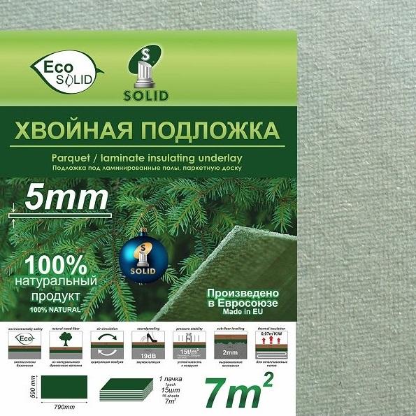 Подложка хвойная Steico 7 мм   Naturfloor.ru